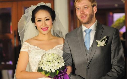 Ngô Phương Lan rạng rỡ trong ngày cưới