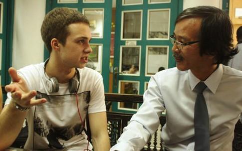 Thần đồng Văn học Nga Mikhail Samarsky đến Việt Nam