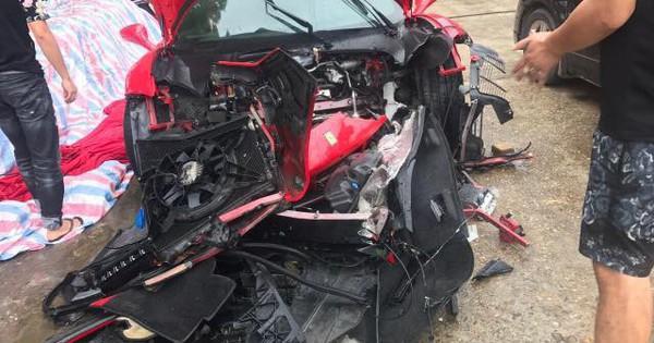 Siêu xe 16 tỷ của Tuấn Hưng gặp nạn trên cao tốc giờ ra sao?