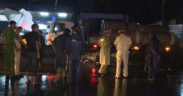 Nam công nhân gặp nạn tử vong trên đường đi đón vợ