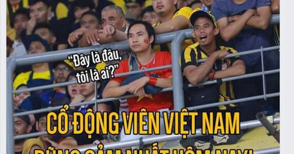 """CĐV """"dũng cảm"""" nhất Việt Nam nói gì về bức ảnh gây """"sốt"""" mạng?"""
