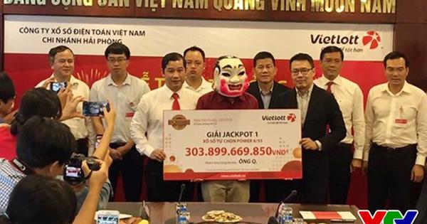 Người trúng 304 tỷ Vietlott nói gì về chiếc vé trúng giải khủng?
