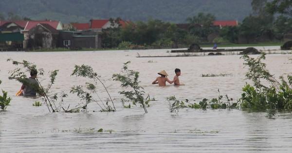 Nghệ An – Hà Tĩnh: Bão vừa qua, lũ lại tới