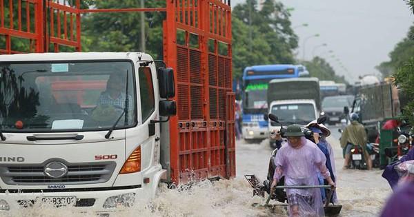 Dự báo thời tiết 22/7: Hà Nội tiếp tục có mưa rất to