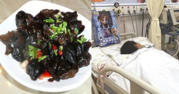 Bé gái 7 tuổi bị suy đa tạng vì ăn phải thực phẩm quen thuộc nhưng lại bị chế biến sai cách
