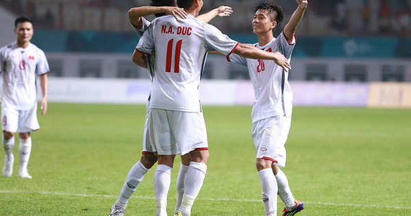 Thắng Olympic Nepal 2-0: Việt Nam giành quyền vào vòng loại trực tiếp Asiad 2018
