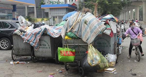 Hà Nội chỉ đạo khẩn vụ chặn xe chở rác khiến rác trong nội thành bị ùn ứ nhiều ngày