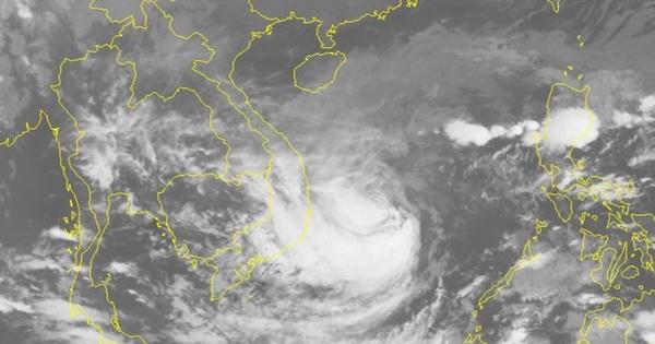 Gió sẽ giật rất mạnh khi bão số 6 đổ bộ vào Quảng Ngãi – Khánh Hòa