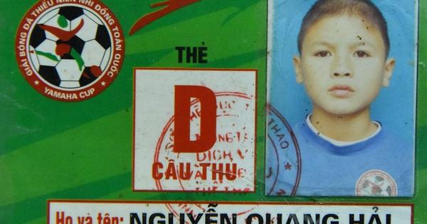 Quang Hải, Văn Hậu và các cầu thủ U22 Việt Nam được vinh danh từ bé