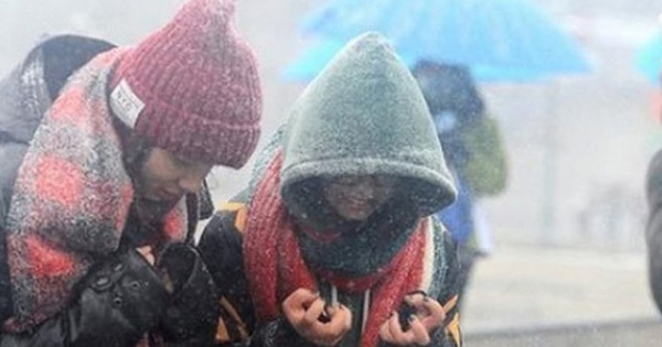 Miền Bắc có nơi nhiệt độ đã dưới 0, dự báo đợt rét khủng khiếp tiếp tục kéo dài