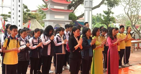Hải Phòng: Người dân dâng lễ tưởng nhớ công lao Đức Vương Ngô Quyền