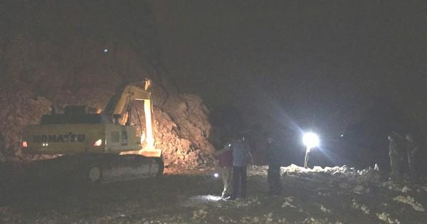 Nghi vấn nổ mìn phá đá, 1 công nhân tử vong