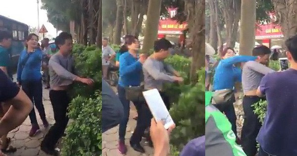 Bị sàm sỡ trên xe buýt, người phụ nữ đánh tả tơi kẻ biến thái ở Hà Nội