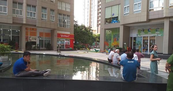 Hà Nội: Bàng hoàng phát hiện thi thể nam giới tại chung cư Vinaconex