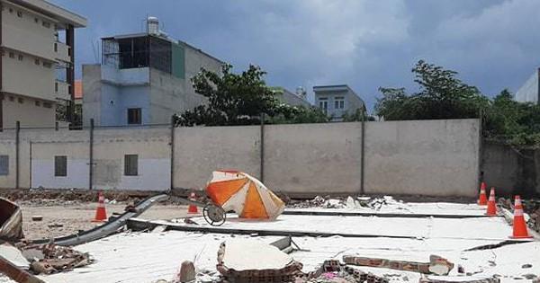 2 công nhân ở Bình Dương bị tường sập đè chết khi ngồi tránh nắng