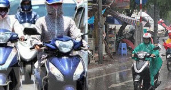 Kết thúc nắng gắt, Hà Nội đổ mưa dông từ chiều tối nay