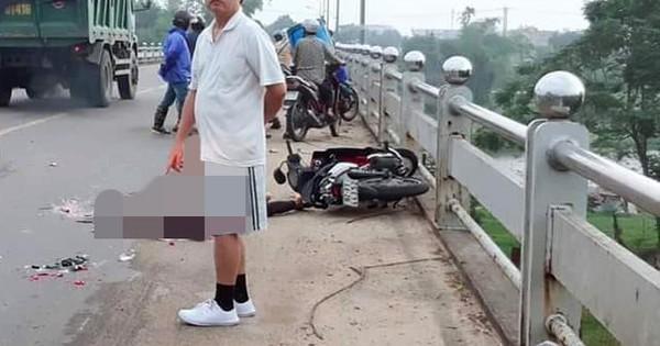 Tông chết người rồi bỏ trốn, tài xế xe tải bị bắt sau 30 phút