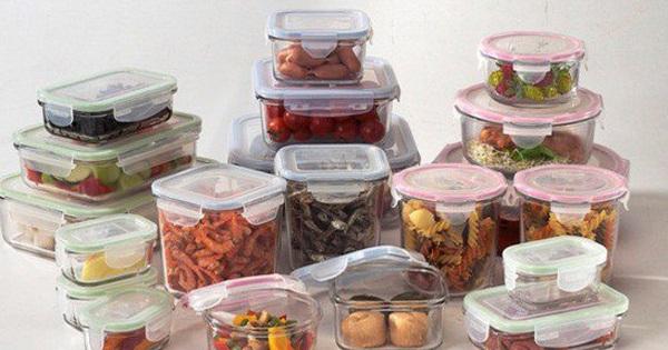 """Dùng thủy tinh thay đồ nhựa đựng thức ăn cần lưu ý điều này kẻo """"đầu độc"""" cả gia đình"""