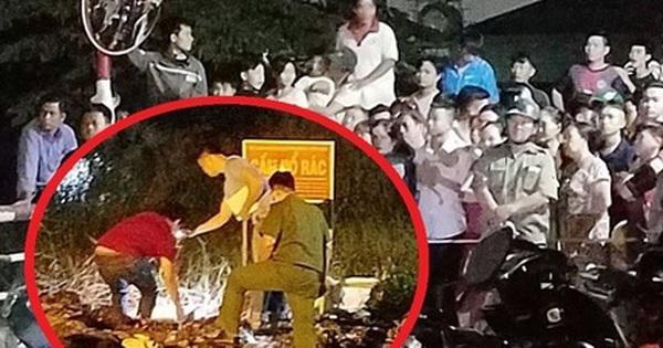 Chen chúc xem xác chó nằm trong hộp đá hoa cương ở bãi rác Sài Gòn
