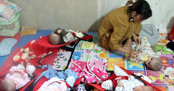 Đầu năm thăm mái ấm của 56 đứa trẻ bị cha mẹ bỏ rơi nơi cửa Phật