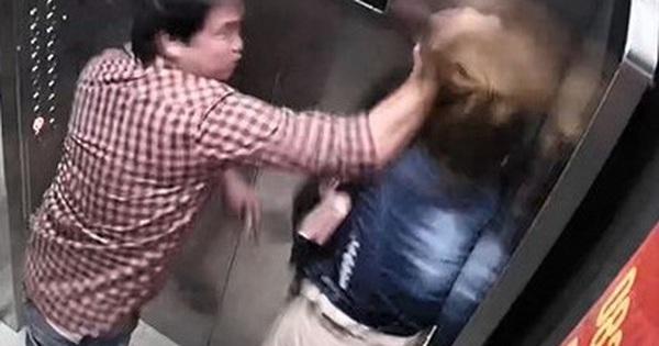 """""""Cần xử lý nghiêm người đàn ông đánh phụ nữ tới tấp trong thang máy"""""""