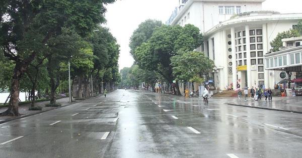 Dự báo thời tiết hôm nay: Hà Nội mưa rét, miền Nam nắng nóng