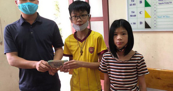 Học sinh lớp 7 nhặt được 50 triệu đồng của nguyên Bí thư Tỉnh ủy Hà Tĩnh