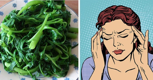 7 loại rau quả đẩy máu lên não, giúp người rối loạn tiền đình hết hoa mắt chóng mặt, đau đầu liên miên