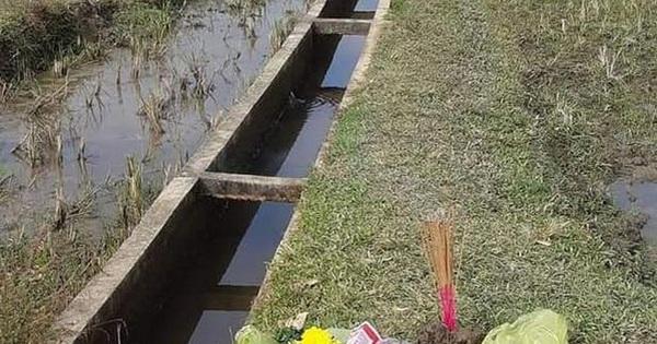 Thi thể nữ sinh mất tích được tìm thấy dưới mương