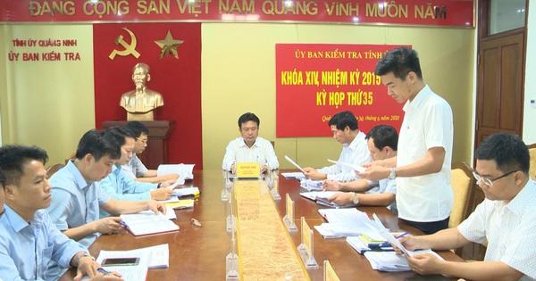 Quảng Ninh: Vì sao 2 Phó Chủ tịch UBND TP. Cẩm Phả bị kỷ luật Đảng?