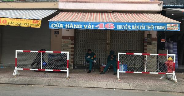 Quận Tân Phú tiếp tục phong tỏa 8 căn nhà