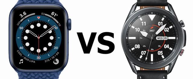 Apple Watch Series 6 đọ sức Samsung Galaxy Watch 3