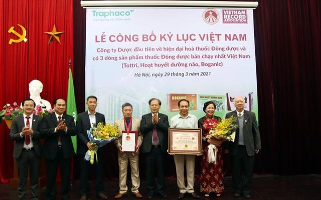 Vì sao Hoạt huyết dưỡng não Traphaco nhận kỷ lục Việt Nam?