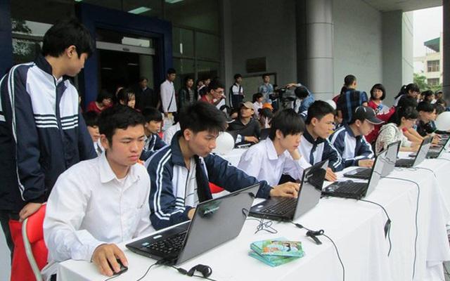 Nhiều nơi tổ chức kiểm tra học kỳ 2 theo hình thức trực tuyến