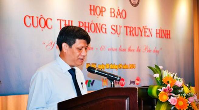 """Cuộc thi phóng sự truyền hình """"Y tế Việt Nam – 60 năm làm theo lời Bác dạy"""
