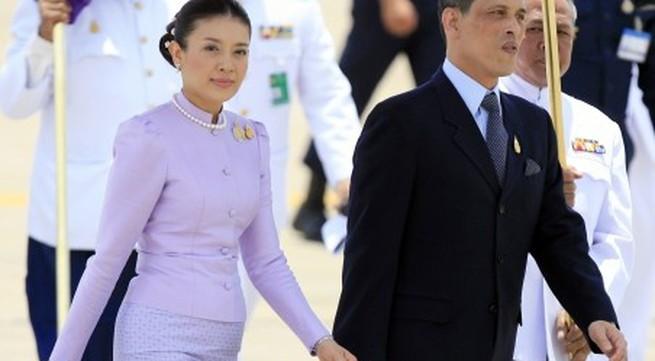 Thái tử Thái Lan đã ly dị vợ