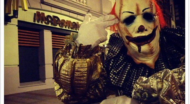 Rùng rợn hề quỷ đại náo Halloween