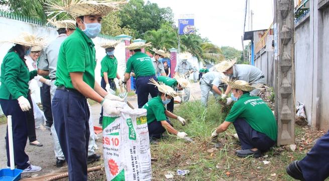 Ajinomoto Việt Nam chung tay góp sức vì môi trường xanh