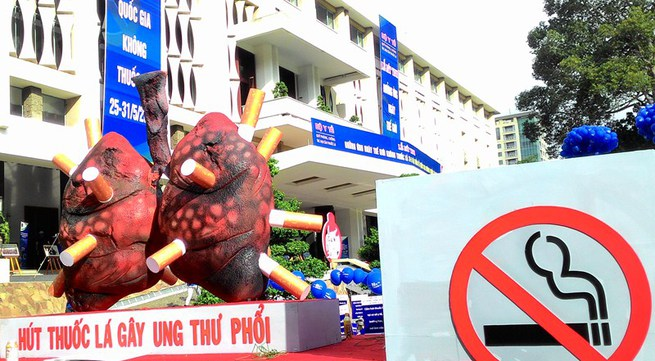 Giới trẻ chung tay phòng chống tác hại thuốc lá