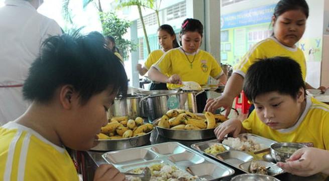 Giúp học sinh có bữa ăn ngon miệng