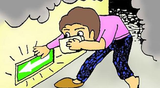 Những cách thoát nạn khi cháy tầng hầm