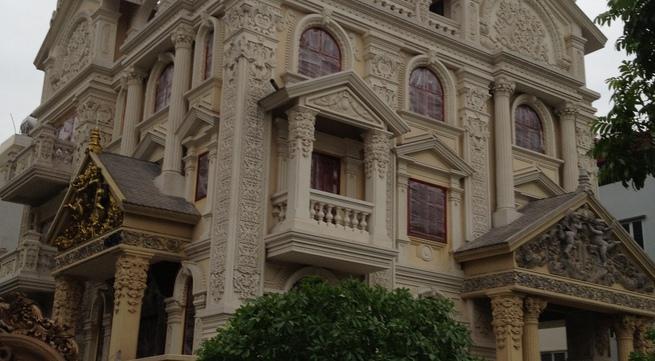 Cận cảnh lâu đài đẹp như mơ trong dự án tai tiếng của đại gia điếu cày
