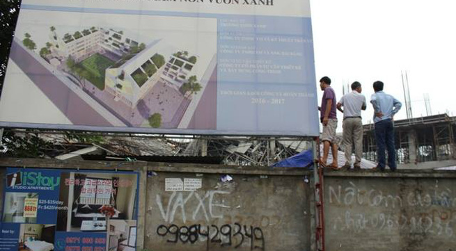 Hà Nội: Cơn rung lắc cứu mạng nhiều công nhân trong vụ trường mầm non đổ sập
