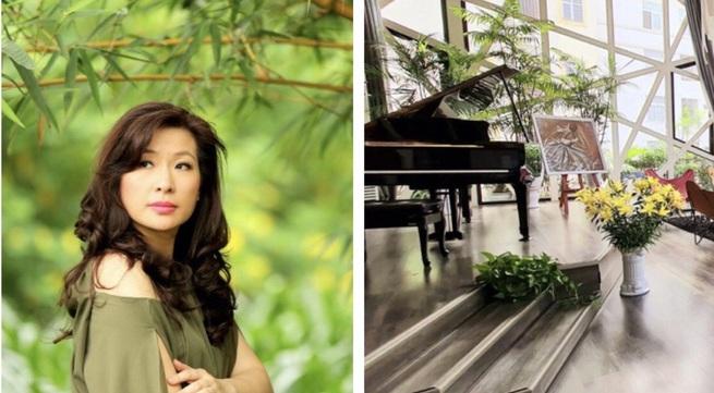 """Không gian sống """"nhà trong vườn"""" đầy lãng mạn của ca sĩ Thùy Dung"""