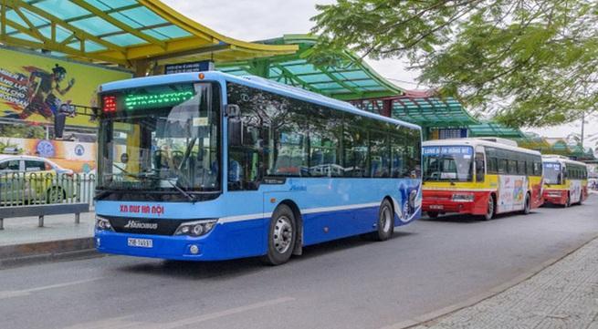 Từ 0h ngày 8/3, Hà Nội bỏ giãn cách hành khách trên xe dịch vụ