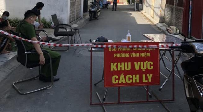 Hải Phòng ghi nhận 3 trường hợp dương tính là F1 của BN55891 ở Vĩnh Niệm