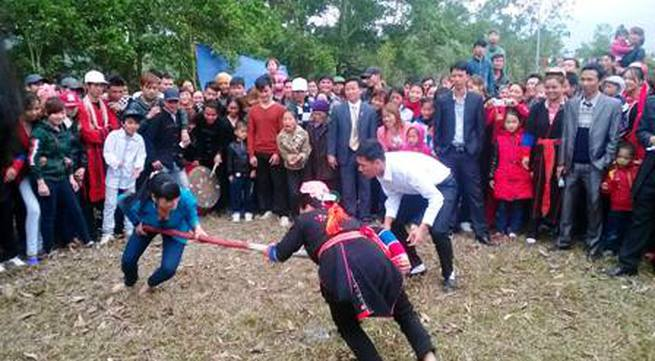 Đặc sắc các trò chơi, môn thể thao dân gian đầu xuân của người Dao
