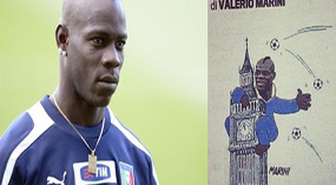 Balotelli bị so sánh với... King Kong