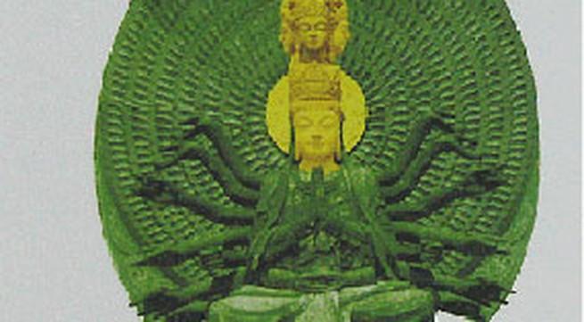 Rước tượng Ngọc Quan Âm cao 1,1 mét về Việt Nam