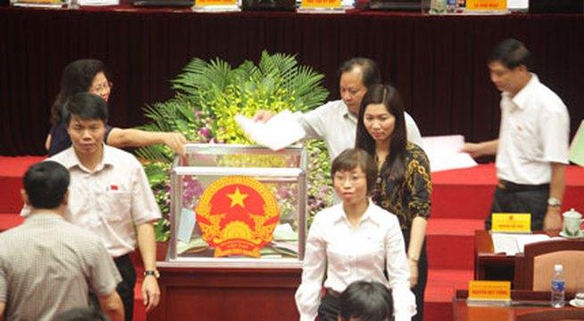 Kết quả lấy phiếu tín nhiệm HĐND TP Hà Nội: Phản ánh một phần chứ không phải tất cả